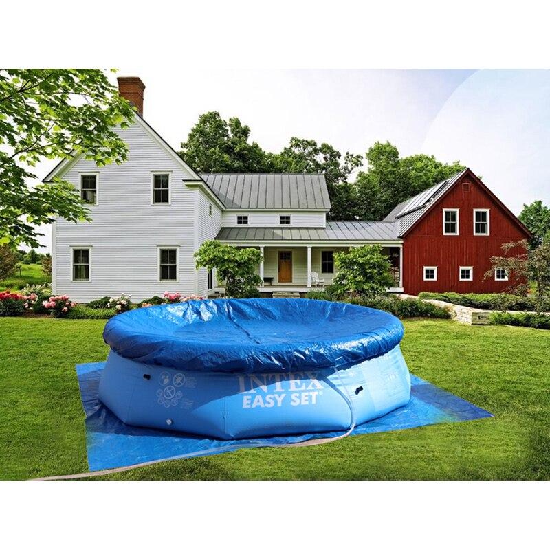 244 cm 76 cm INTEX azul AGP piscina sobre el suelo de la familia piscina inflable piscina para adultos niños aqua agua de verano B33006 - 5