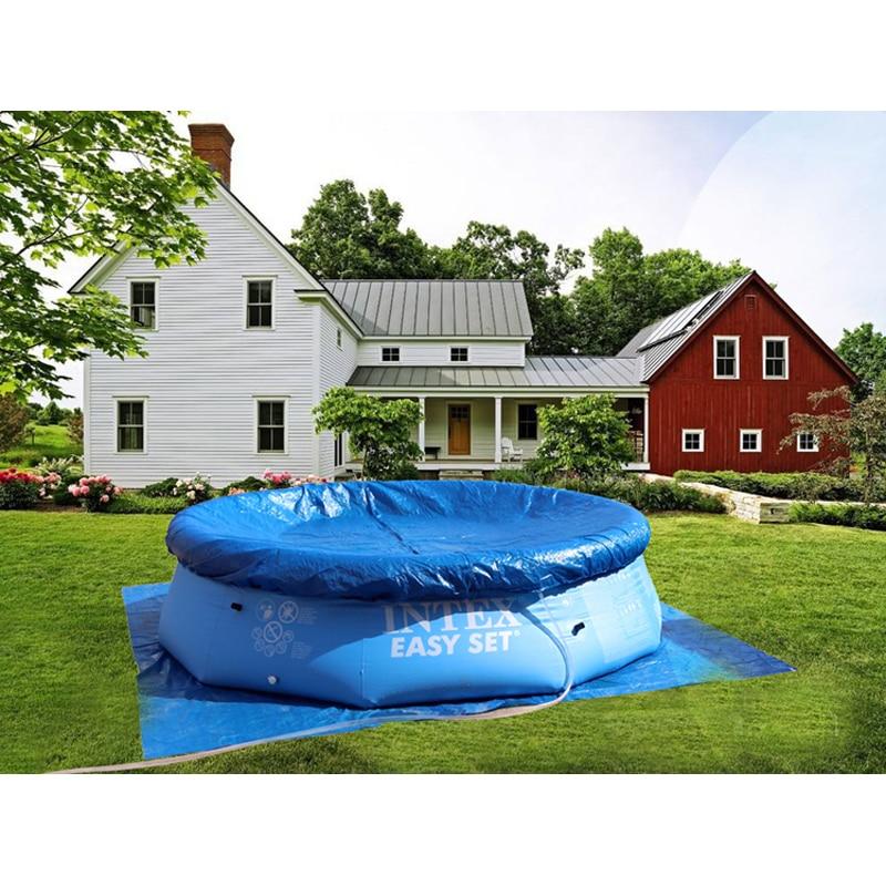 244 cm 76 cm INTEX bleu AGP piscine hors sol famille piscine gonflable piscine pour adultes enfants enfant aqua eau d'été B33006 - 5