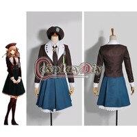 Anime Amnesia Heroine Game Dress School Uniforms Cosplay Costumes Custom Made For Halloween D0805