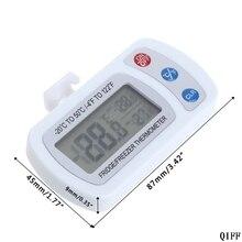 Водонепроницаемый Холодильник ЖК-термометр морозильник с подвесным крюком стенд Mar28