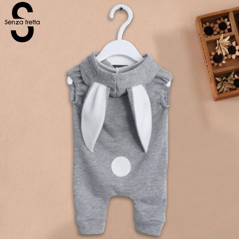Senza-Fretta-Gray-Zipper-Conjoined-Jeans-With-Rabbit-Ears-Hooded-Sweater-Baby-girlBoys-Sweaters-Ins-Hot-Sale-Hoodies-For-baby-3