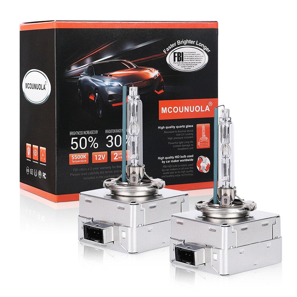 2PCS NEW D1S D1R D2S D2R D3S D4S D4R HID Xenon Bulb 12V 35W 4300K 5500K 8000K For Audi Volkswagen Skoda Seat