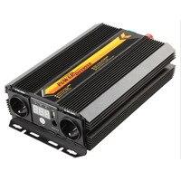 T8102 2000 Вт/3000 Вт Мощность инвертор Зарядное устройство конвертер ЖК дисплей Дисплей автомобиля домой Применение Питание инвертор Алюминий с