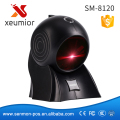 Freeship! Cost-effective!! High Quality 24 Lines  Laser Desktop Flatbed Barcode Scanner Bar code Reader with USB Interface