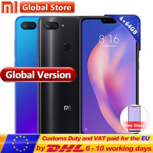 Küresel Sürüm Xiao mi mi 8 Lite 4 GB 64 GB telefon 6.26