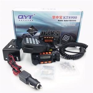 Image 5 - Qyt kt8900 25w mini rádio transceptor uv dtmf rádio móvel kt 8900 banda dupla 136 174 & 400 480mhz walkie talkie