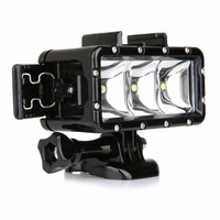 Universal Waterproof Dimmable LED Diving Light For SONY Gopro Hero 4 3 3 2 H9 SJCAM