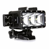 Universal Waterproof Dimmable LED Diving Light For SONY Gopro Hero 4 3 3 2 H9 SJCAM