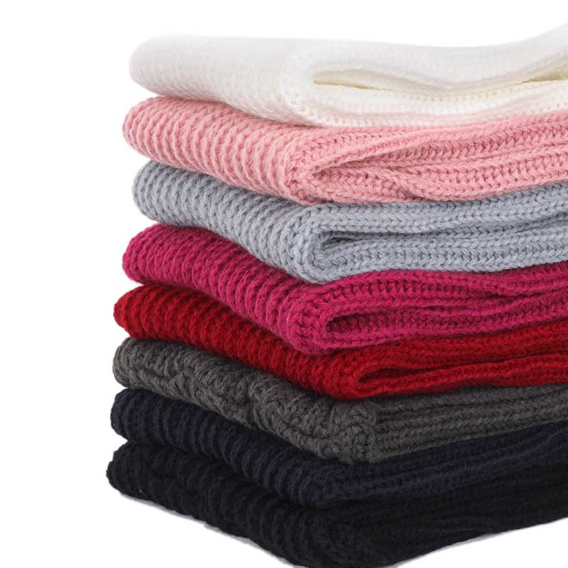 2018-New-Children-s-Solid-Color-Knit-Scarf-Winter-Fashion-bib-Boy-Girl-Kids-Baby-Kerchief (1)_