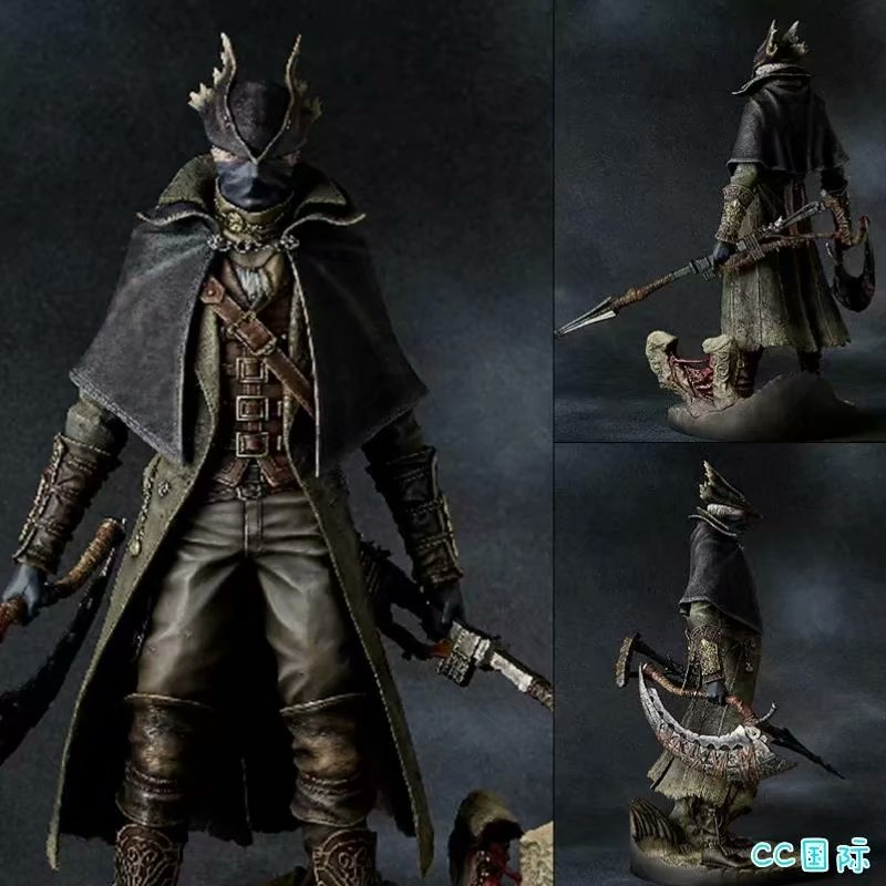 30cm 12inch Bloodborne The Old Hunters Sickle Action Figure Model Toy Doll Gift