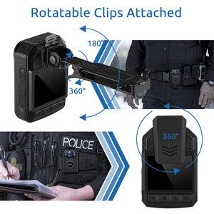 Image 3 - Нательная камера Boblov KJ21 HD 1296P, видеорегистратор, камера безопасности, ИК Ночное Видение, носимые мини видеокамеры, Полицейская камера