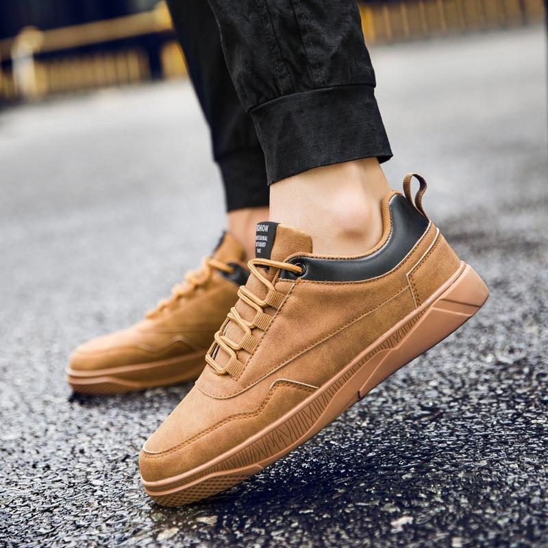 Men s Waterproof font b Sneakers b font Classic Running Shoes Outdoor Trekking Trip Training Anti