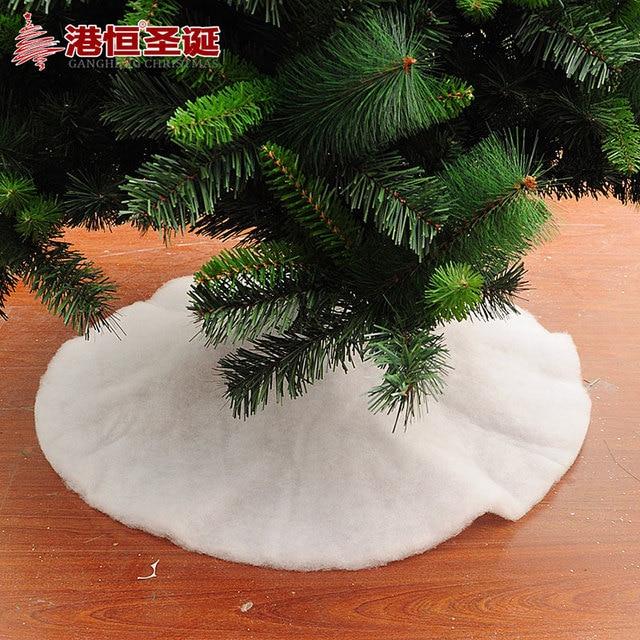 christmas decoration 70 90cm snow white pp cotton christmas tree skirts christmas snow simulation 80g