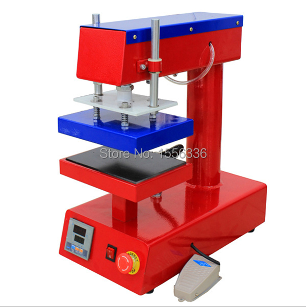 Pneumatic Heat Transfer Machine For Mouse Pads, Puzzles, Tiles, Key Chains, T-shirts, Jeans ST1015 15X 20CM
