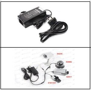 Image 2 - Haute qualité 12V6A ue adaptateur secteur 4 out adaptateur ca/cc 100V 240V convertisseur adaptateur prise dalimentation 1 à 4 mâle répartiteur de puissance
