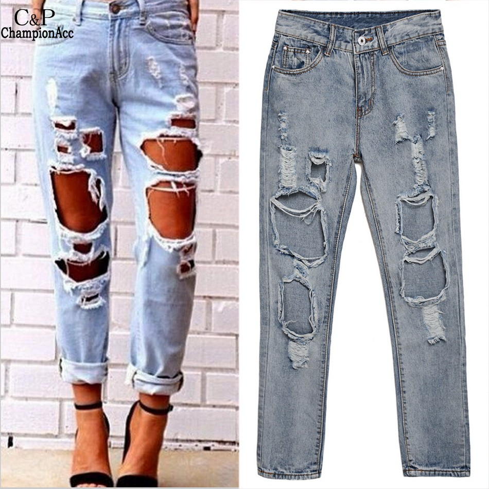 High Quality Boyfriend Jeans Style-Buy Cheap Boyfriend Jeans Style ...