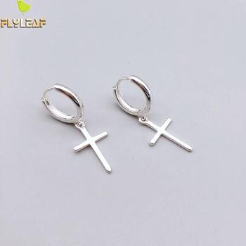 Flyleaf 925 Sterling Silver Cross Dangle Earrings For Women 2018 New Trend Lady Fashion Jewelry Pendientes.jpg 350x350 - Flyleaf 925 Sterling Silver Cross Dangle Earrings For Women 2018 New Trend Lady Fashion Jewelry Pendientes Mujer Moda