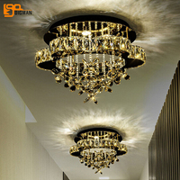 Novelty Design K9 Crystal Lamp LED Ceiling Light Modern Ceiling Lighting Fixutres For Home