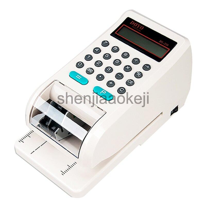110-220 В английском принтер чеков DY330 юаней гонконгские доллары США доллар Singapore SGD, состоящая из пяти чек принтер 1 шт.