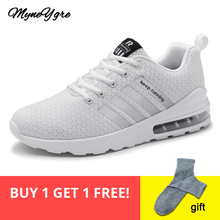 MYNEYGRE running shoes Air Shoes Keep Running Shoes Men Sport Cushion Sneakers Jogging Women Outdoor Athletic Mesh Breathable new couples sports shoes breathable mesh outdoor running shoes for men women air cushion running sneakers non slip running shoes