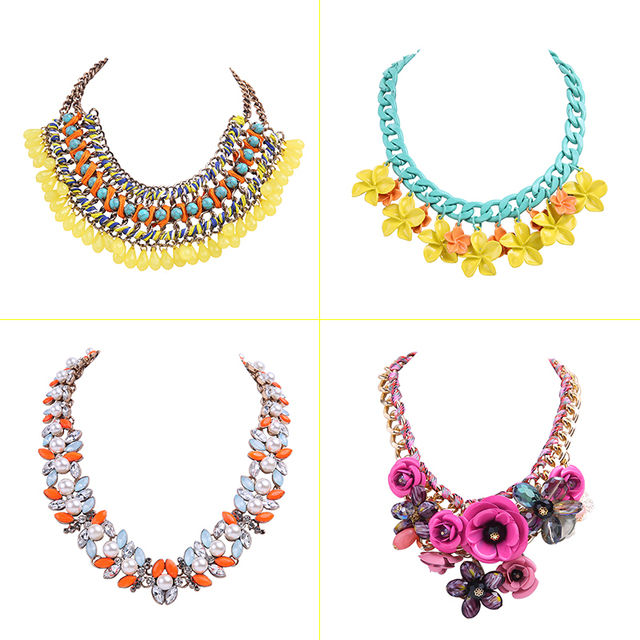 vintage chain statement necklace women 2014 new hot collar fashion jewelry accessories necklaces & pendants jewellery N3008