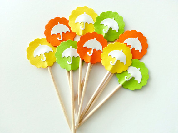 bridal shower umbrella decorations