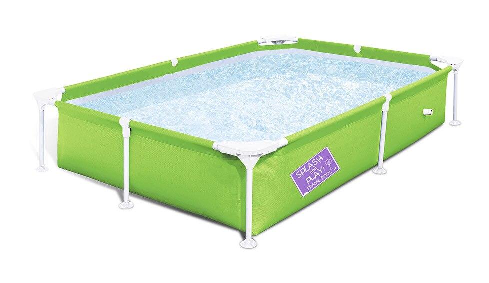 Pour l'été 2.2*1.5*0.43 m portable pliant enfants support rectangulaire piscine tube rack piscine piscine - 3