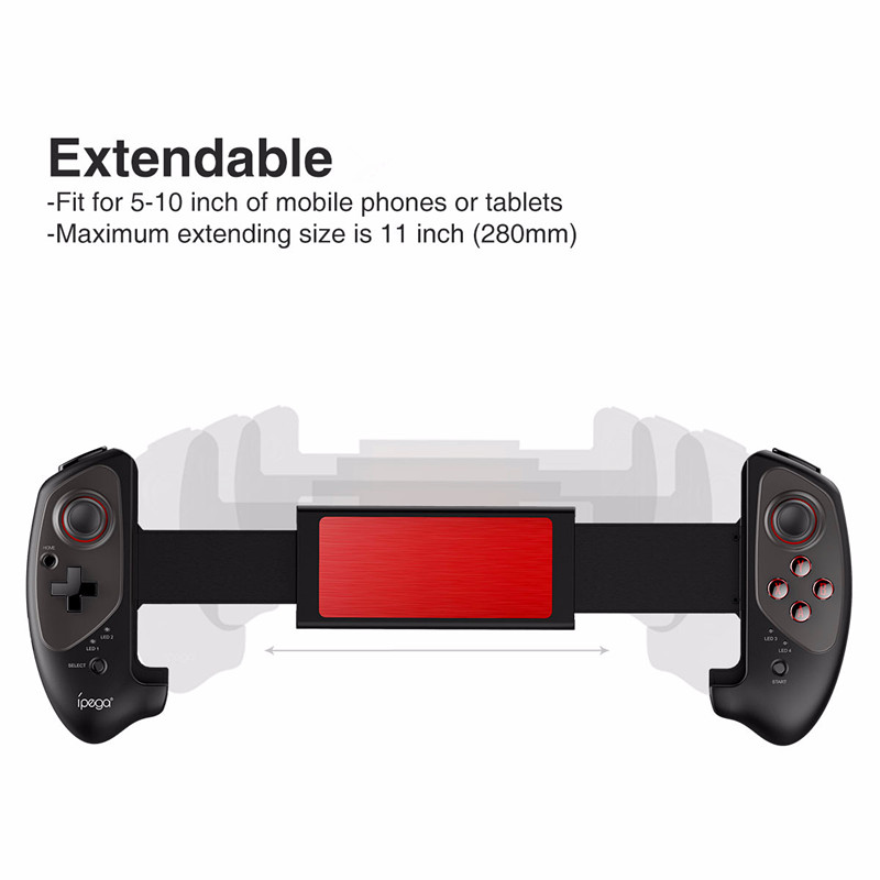 Wireless Bluetooth Gamepad for Android IOS phone Telescopic Controller  Stretch Joystick effectively relieve sore fingers. f1c149b4d52