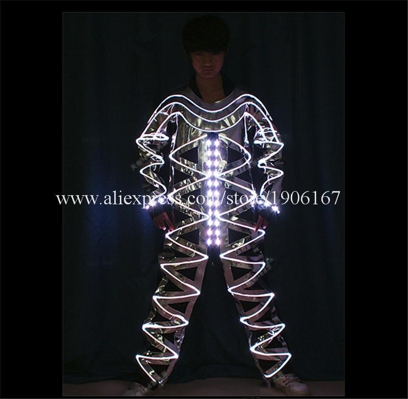 Full color LED light up Fiber Optic Jumpsuits06
