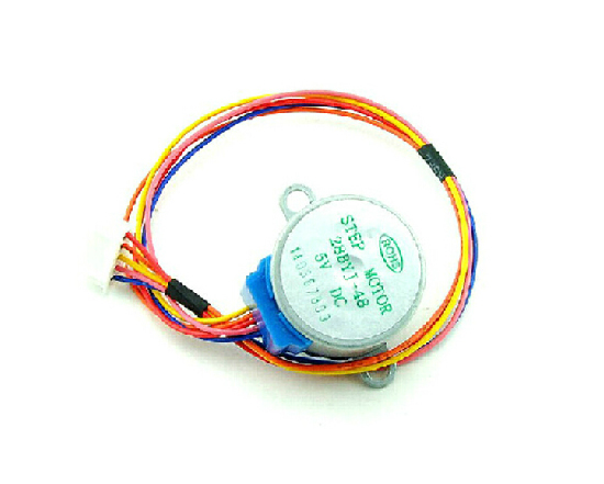 10pcs/lot DC 5V 4-phase 5-wire Stepper Motor 28YBJ-48 28BYJ48 Stepping Motor Lead 25CM