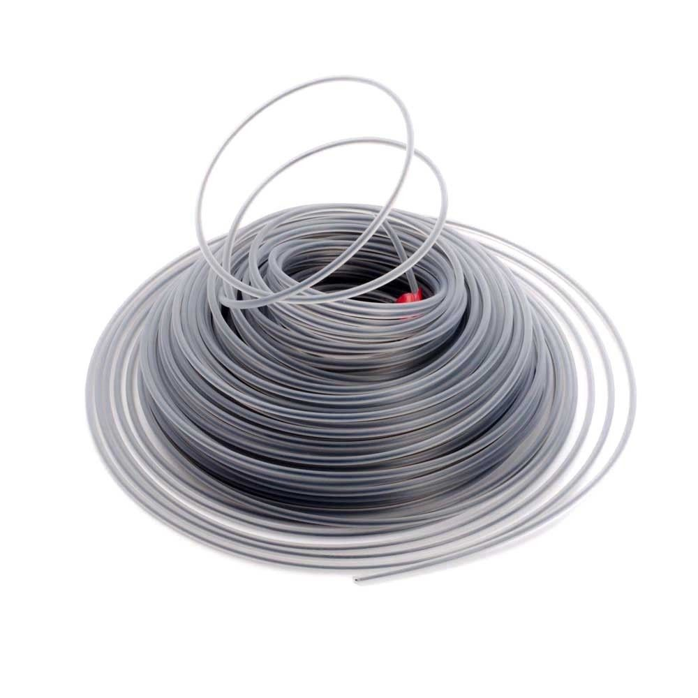 2.6/3.0mm 450g Trimmer Wire Rope Cord Line Strimmer Brushcutter Trimmer Long Round Roll Grass Replacement Wire About 45-60M