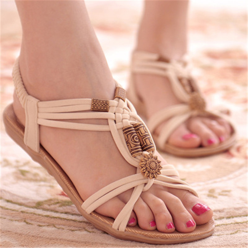Fashion Women Shoes Sandals Flip Flops High Quality Flat Sandals Comfort Gladiator Sandals Sandalias Mujer 2018 Shoes Woman qfn44 mlf44 wlcsp44 burn in socket pin pitch 0 4mm ic body size 6 6mm open top flash test socket adapter qfn44 burn in socket