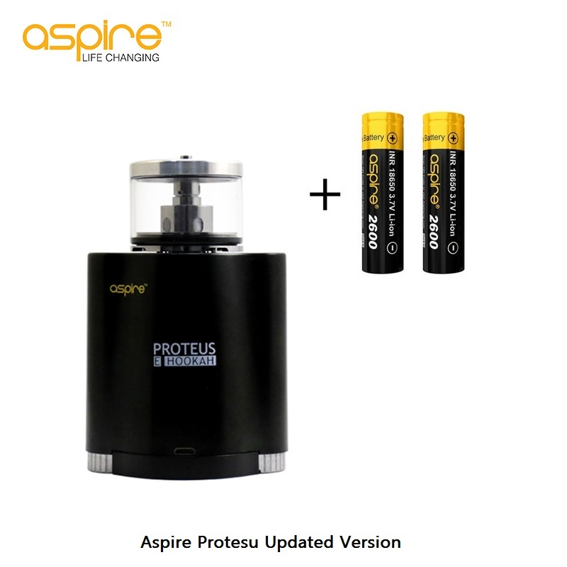 Original Aspire Proteus Kit Updated Version Electronic Hookah E-Cigarettes 18650 Vaporizer 10ml Tank 0.25ohm Box Mod Vape Vaper 100% original innokin mvp4 scion kit 100w 4500mah battery mod 3 5ml scion tank vaporizer vape hookah electronic cigarette kit
