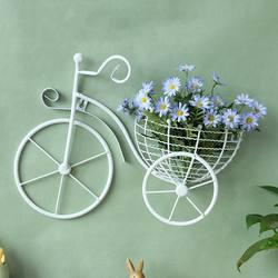 Креативный велосипед Европейский стиль кованого железа Настенный Цветок стойка гостиная балкон стены кашпо для цветов Decoratio