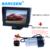 """HD 4.3 """"Color TFT LCD monitor Del Coche + cámara de visión Trasera para VW 2012-15Polo hatachback/Magotan/New bora/Golf 12 13-6/Passat CC"""