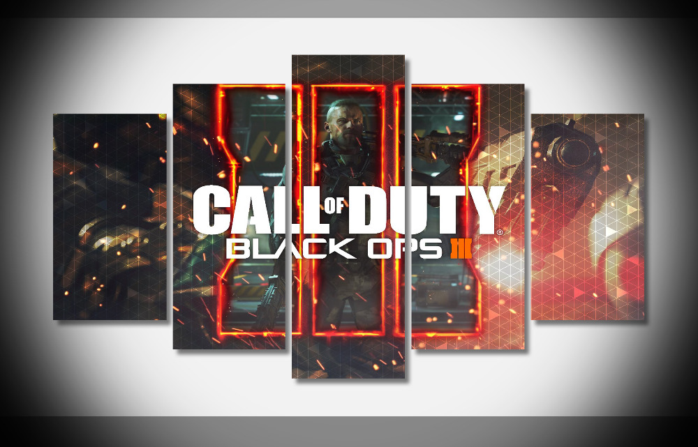 9027 2016 call of duty black ops 3 hd game Poster Framed Gallery wrap art print home wall decor wall picture