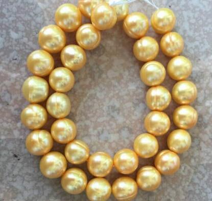 Jewelr 006452 mer du sud baroque or perle collier