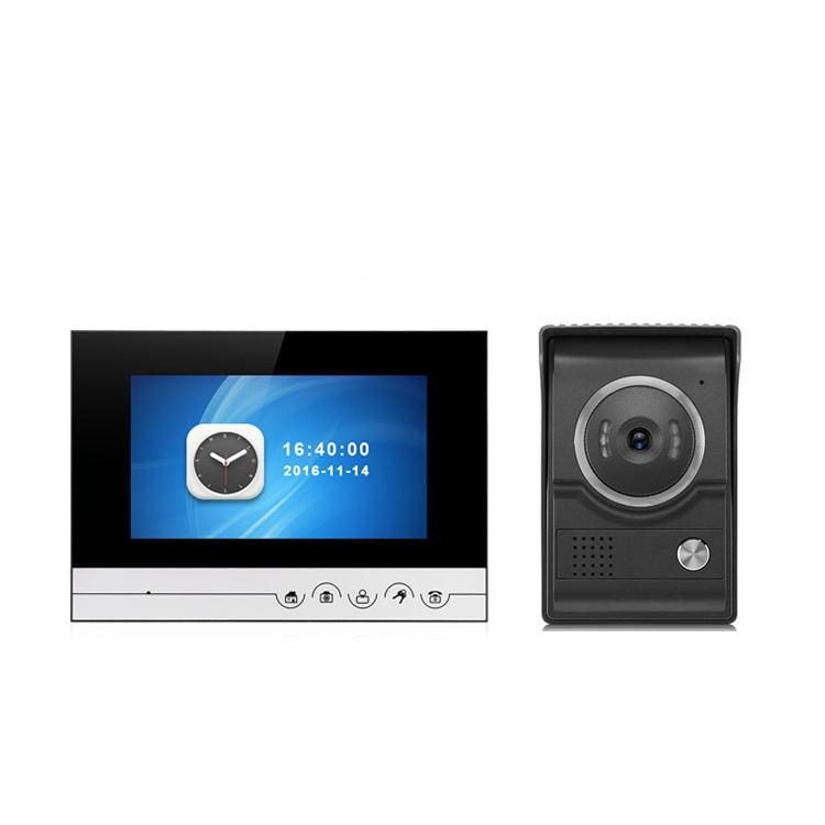 7 Inch TFT Monitor IR Night Vision Video Door Phone
