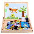 Jigsaw Puzzles For Kids Wood Puzzles For Children Wooden Tangram Puzzle Educational Games Logic Toys For Girls Animal 70B112