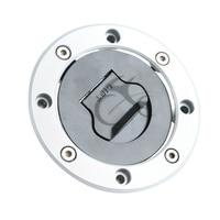 GAS FUEL TANK CAP with key for GSXR 750 GSXR1000 GSX R 1000 2001 2002
