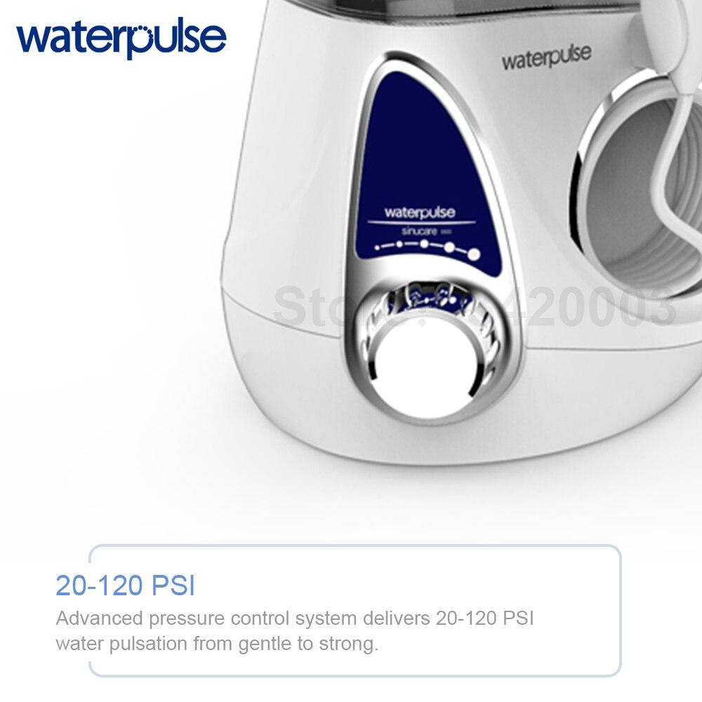 Waterpulse V600 ทันตกรรม Flosser Oral Irrigator น้ำ Flosser 5 หัวฉีด Oral Hygiene 700ML ความจุทันตกรรมฟันทำความสะอาดฟัน-ใน เครื่องชะล้างช่องปาก จาก เครื่องใช้ในบ้าน บน   3