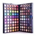 Completa 120 Cores Da Paleta Da Sombra de Maquiagem Profissional Paleta Sombra de Olho maquiagem Sombras Cosméticos V1007A como presente frete grátis