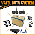 4 PCS P2P Sem Fio Wi-fi Câmera IP 1080 P Bala À Prova de Intempéries Com 4CH 720 P/960 P/1080 P NVR kit Sistema de Vigilância Kit Sistema de CFTV