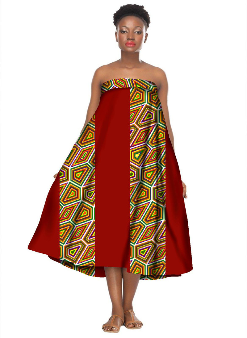 Online Buy Wholesale dress styles african print from China dress ...