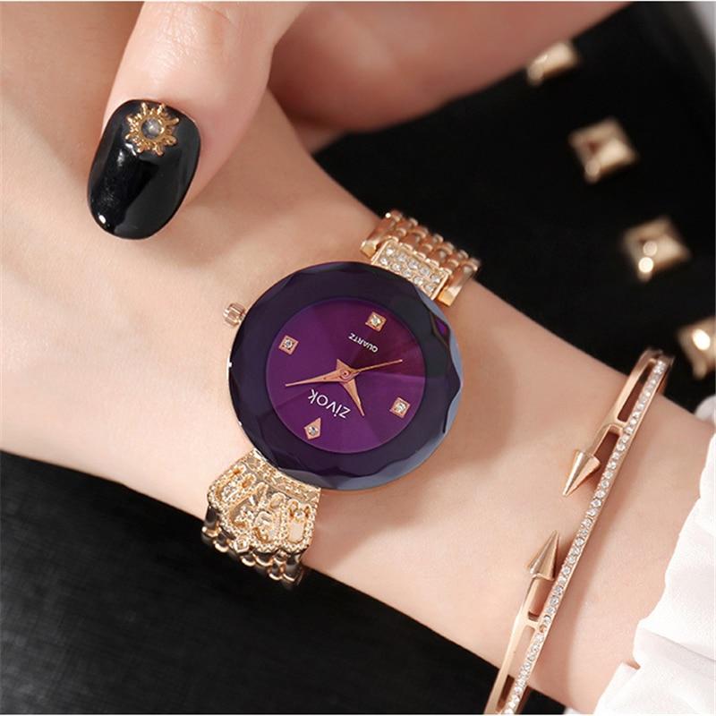 zivok luxe dames armband horloges rose goud mode quartz polshorloge - Dameshorloges - Foto 2