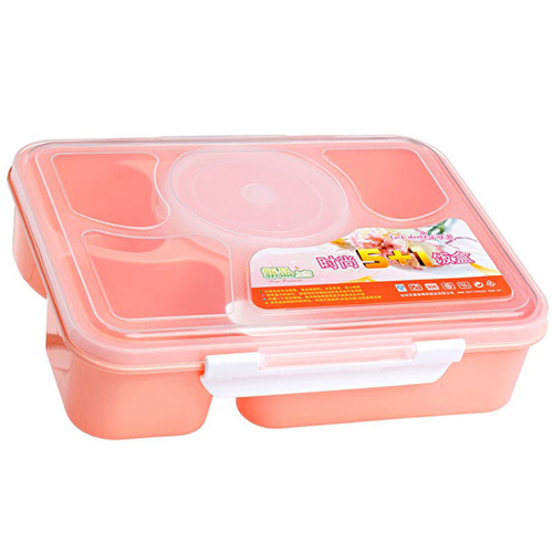 5 in 1 Food Container +Spoon Utensils