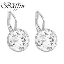 Baffin Original Crystals From Swarovski Bella Mini Piercing Earrings 2017 Fashion Stud Earrings Party Jewelry Women