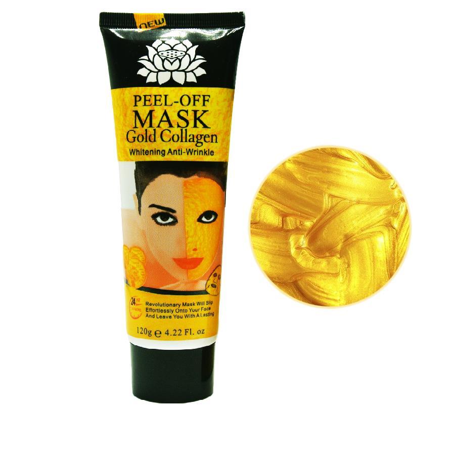 120ml 24K golden mask Anti wrinkle anti aging mascara facial mask face care whitening face masks skin care face lifting firming