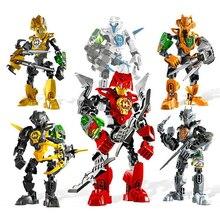 hot deal buy hero factory series robot toy plamobil building blocks bionicle blocks fit robots model action  figures toys hobbies oyuncak