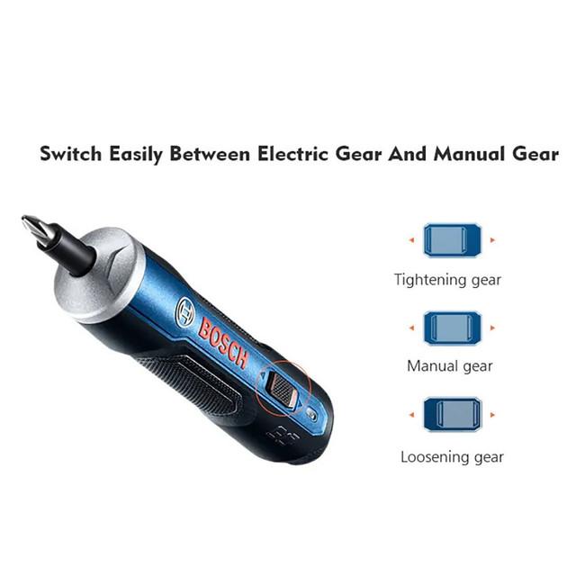 destornillador inalámbrico para Bosch Go 3,6 V original mini batería de litio